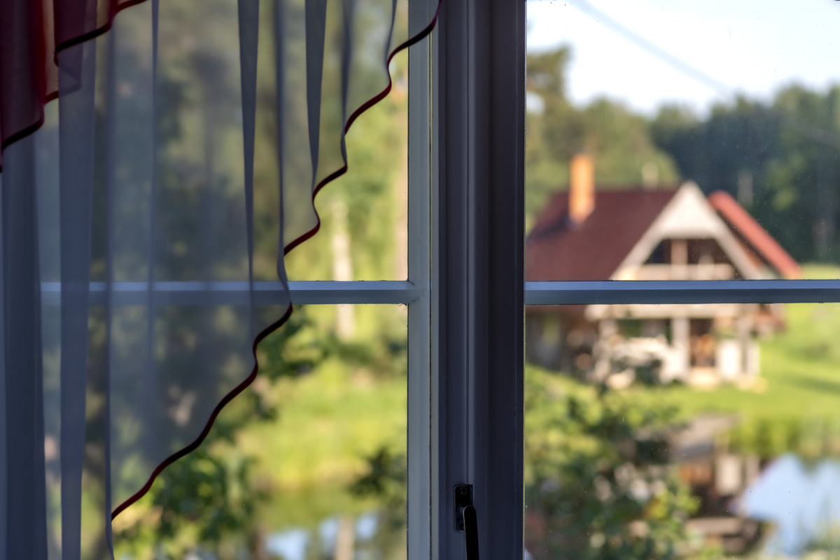 Vaade II korruse aknast